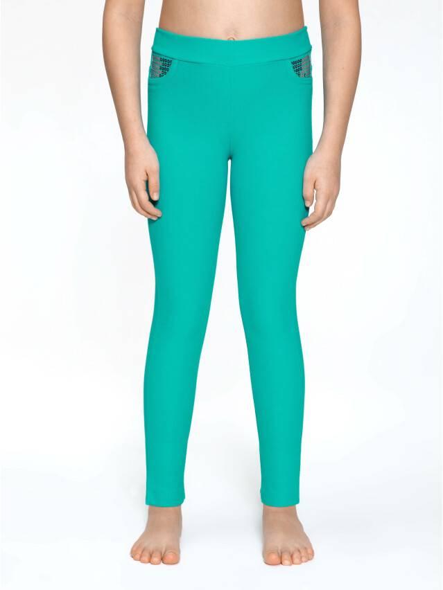 Leggings for girls CONTE ELEGANT PINA, s.110,116-56, green - 2