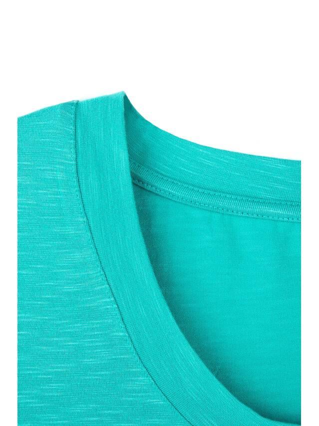 Women's polo neck shirt CONTE ELEGANT LD 478, s.158,164-100, turquoise - 2