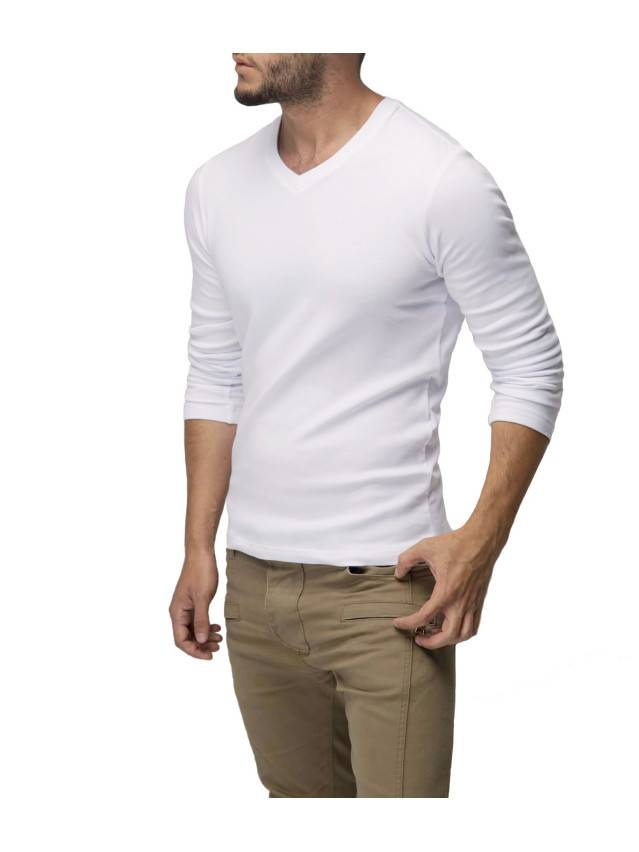 Tricot DiWaRi Men's jumper MD 450, s.170,176-100, white - 1