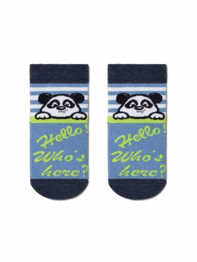 Children's socks CONTE-KIDS SOF-TIKI, s.12, 229 light denim - 1