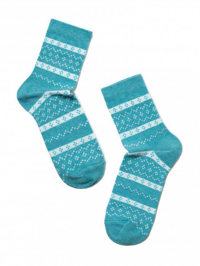Women's socks CONTE ELEGANT CLASSIC, s.23, 062 turquoise - 2