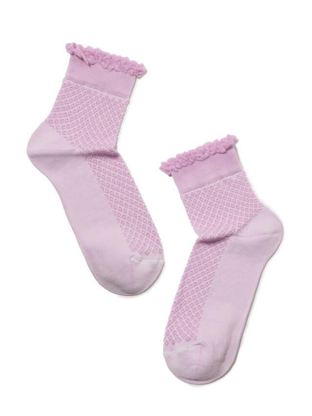 Women's socks CONTE ELEGANT CLASSIC, s.23, 055 lilac - 2