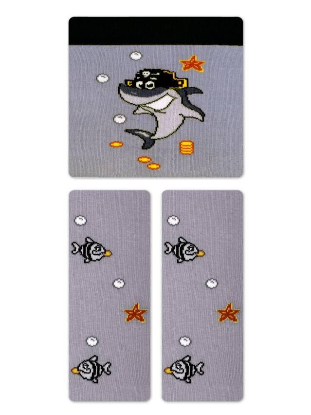 Children's tights CONTE-KIDS TIP-TOP, s.62-74 (12),379 grey - 1