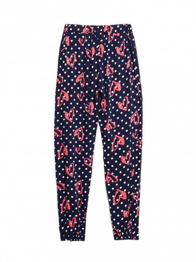 Trousers for girl CONTE ELEGANT POIS, s.110-56-51, navy - 4