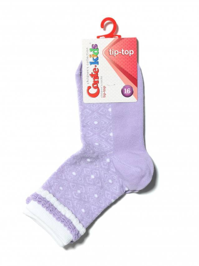 Children's socks CONTE-KIDS TIP-TOP, s.16, 191 lilac - 2