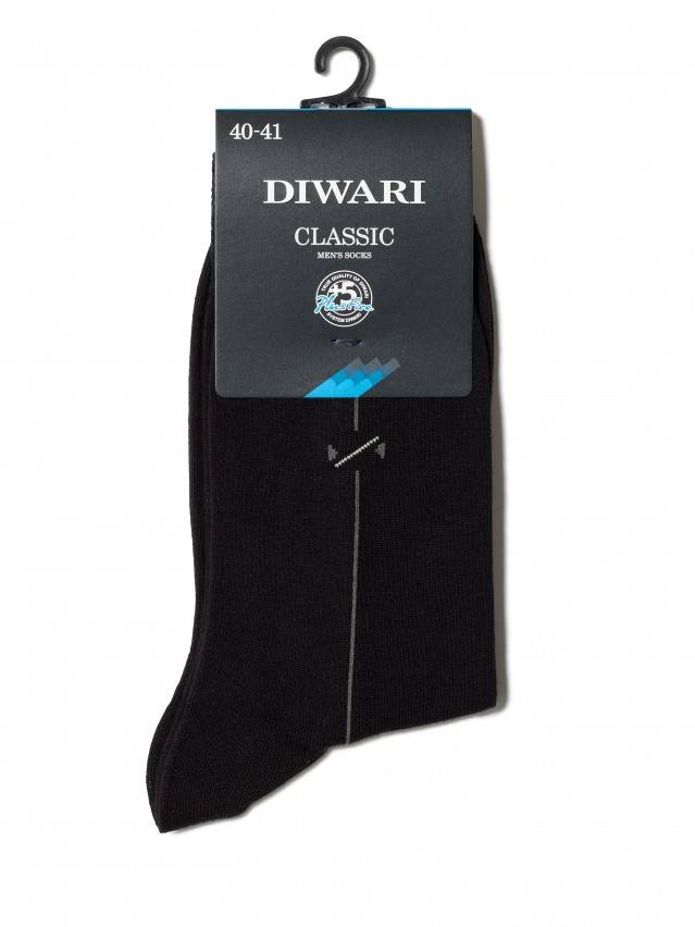 Men's socks DiWaRi CLASSIC, s. 40-41, 005 black - 2