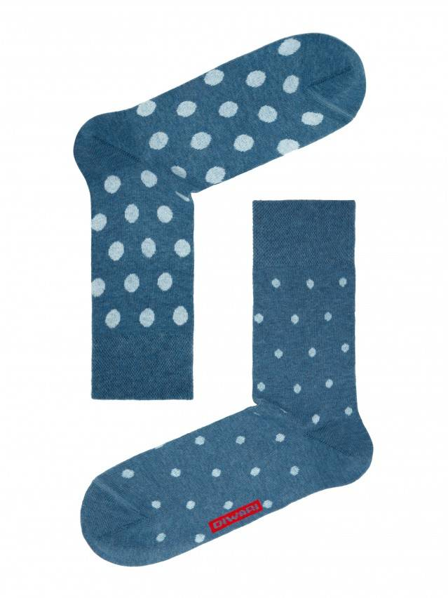 Men's socks DiWaRi HAPPY, s. 40-41, 049 denim-light blue - 1