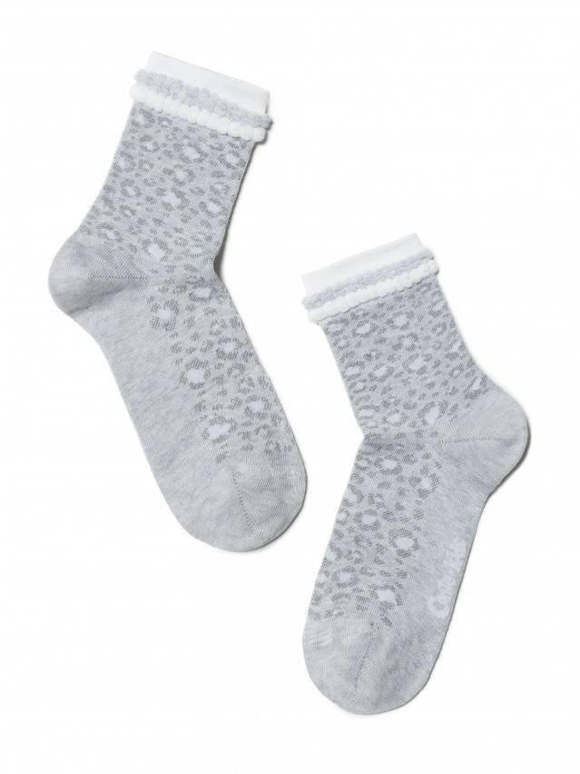 Children's socks CONTE-KIDS TIP-TOP, s.20, 193 light grey - 1