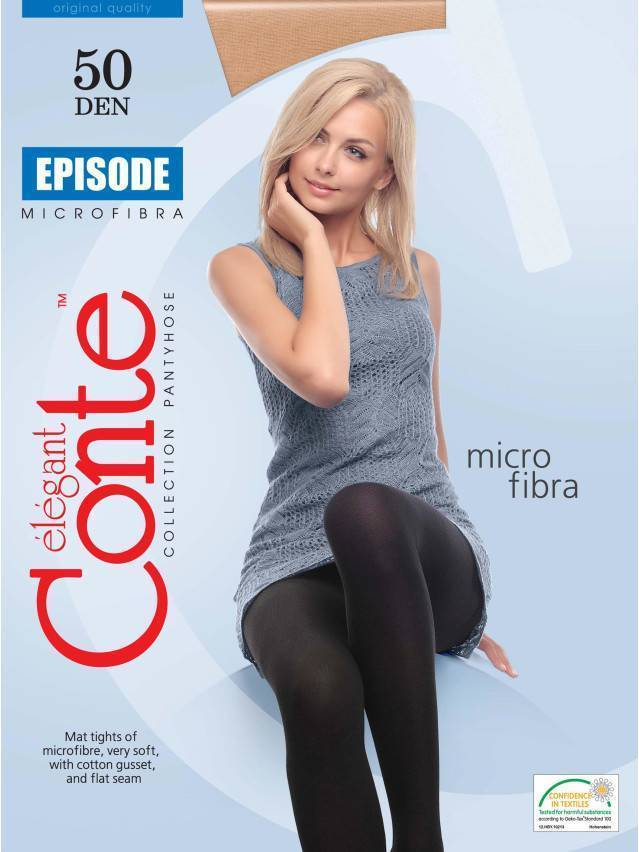 Women's tights CONTE ELEGANT EPISODE 50, s.2, grafit - 2