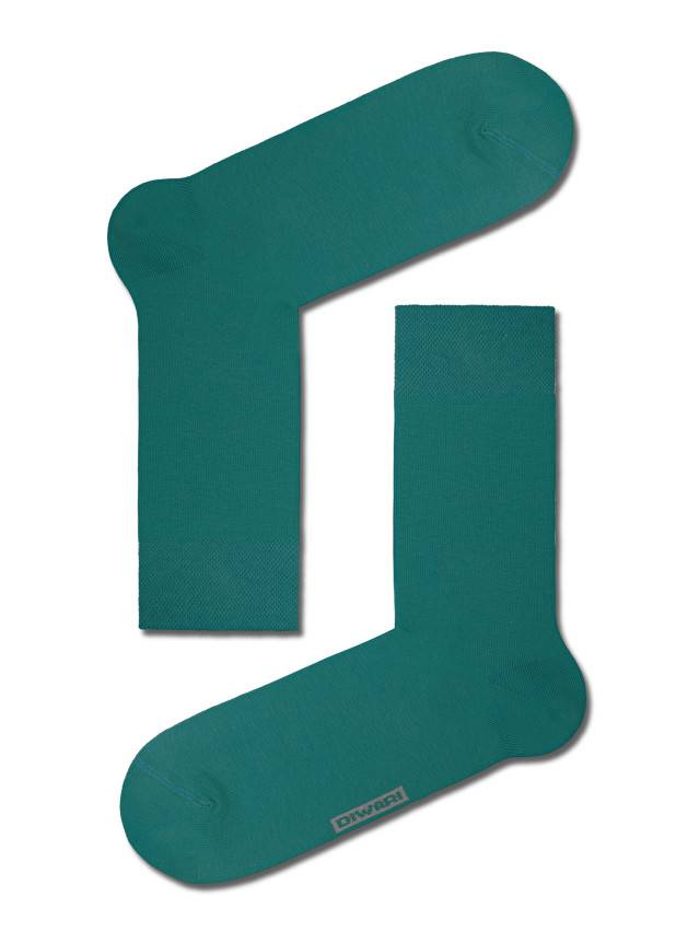 Men's socks DiWaRi HAPPY, s. 42-43, 000 dark turquoise - 1