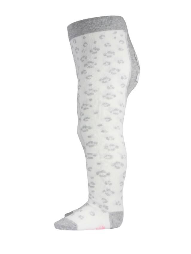 Children's tights CONTE-KIDS TIP-TOP, s.62-74 (12),382 milky-grey - 4