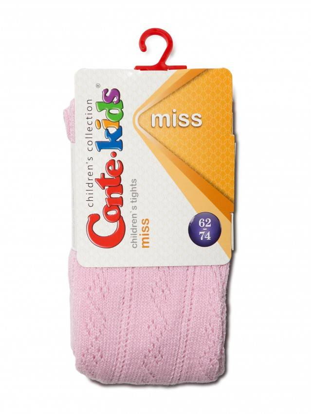 Children's tights CONTE-KIDS MISS, s.62-74 (12),266 light pink - 2