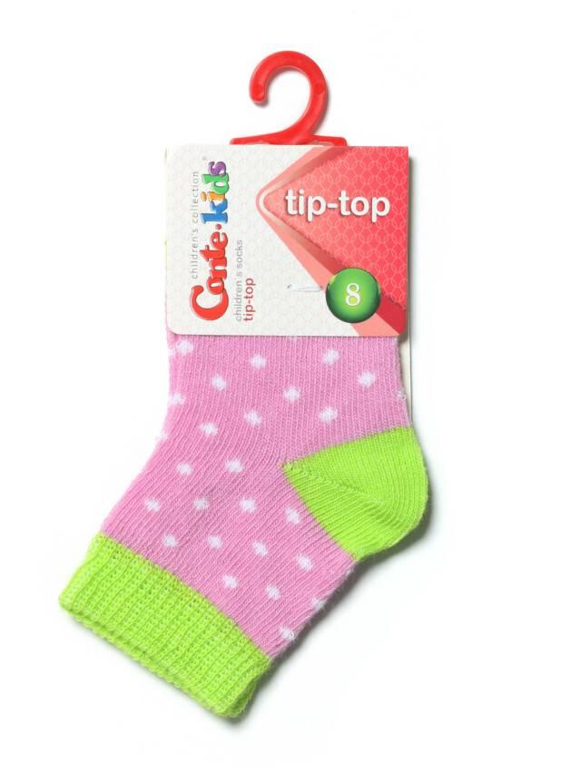 Children's socks CONTE-KIDS TIP-TOP, s.8, 214 mallow-lettuce green - 2