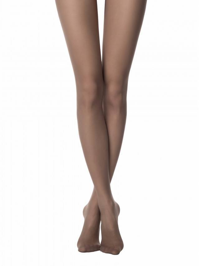 Women's tights CONTE ELEGANT TOP SOFT 40, s.2, shade - 1