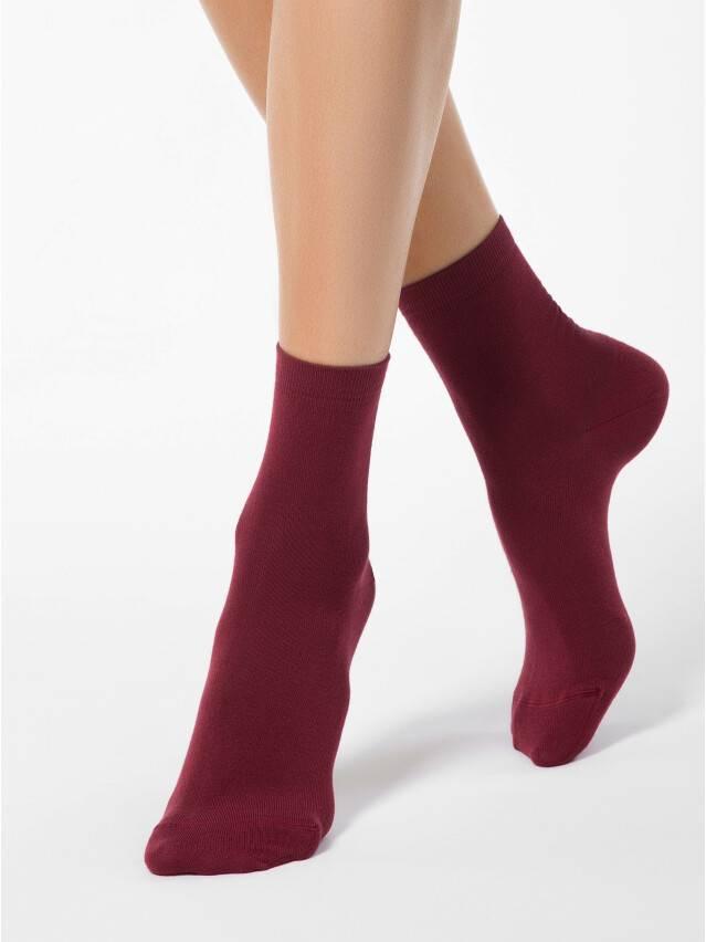 Women's socks CONTE ELEGANT CLASSIC, s.23, 000 wine-coloured - 1