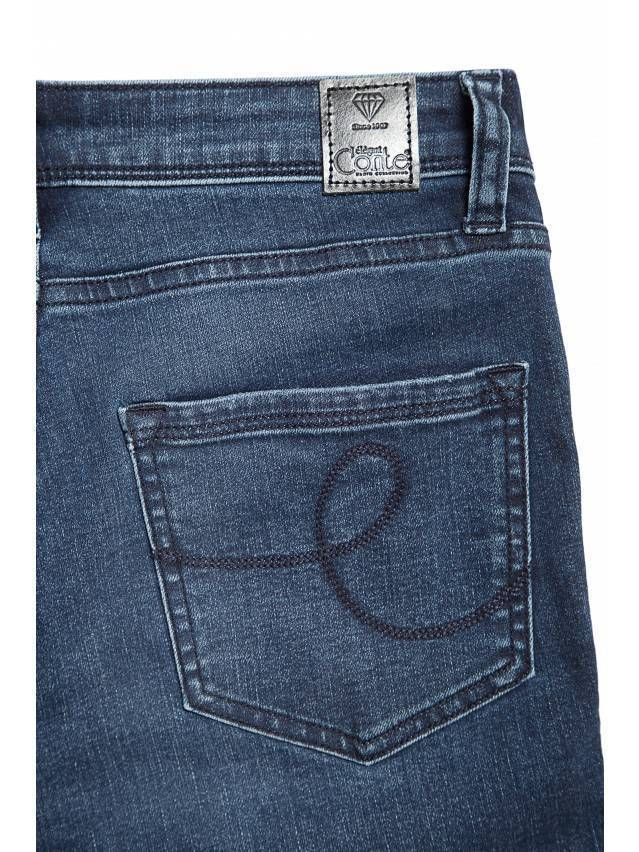 Denim trousers CONTE ELEGANT CON-99, s.170-90, navy - 6