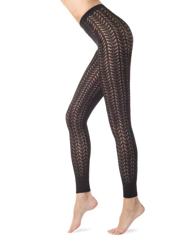 Women's leggings CONTE ELEGANT ART, s.2, nero - 1