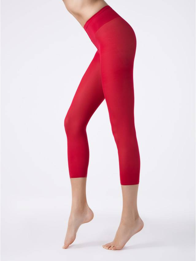 Women's leggings CONTE ELEGANT COLOURS LEGGINS, s.2, rosso - 1