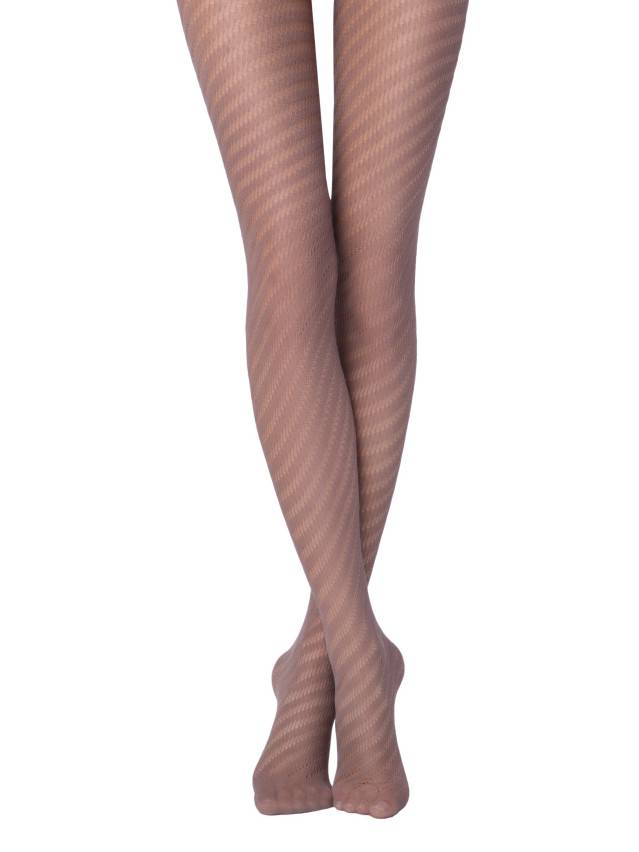 Women's tights CONTE ELEGANT CAPRICE, s.2, cacao - 1