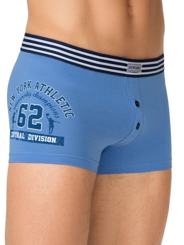 Men's pants DiWaRi TATTOO SHORTS 395, s.102,106/XL, blue - 1