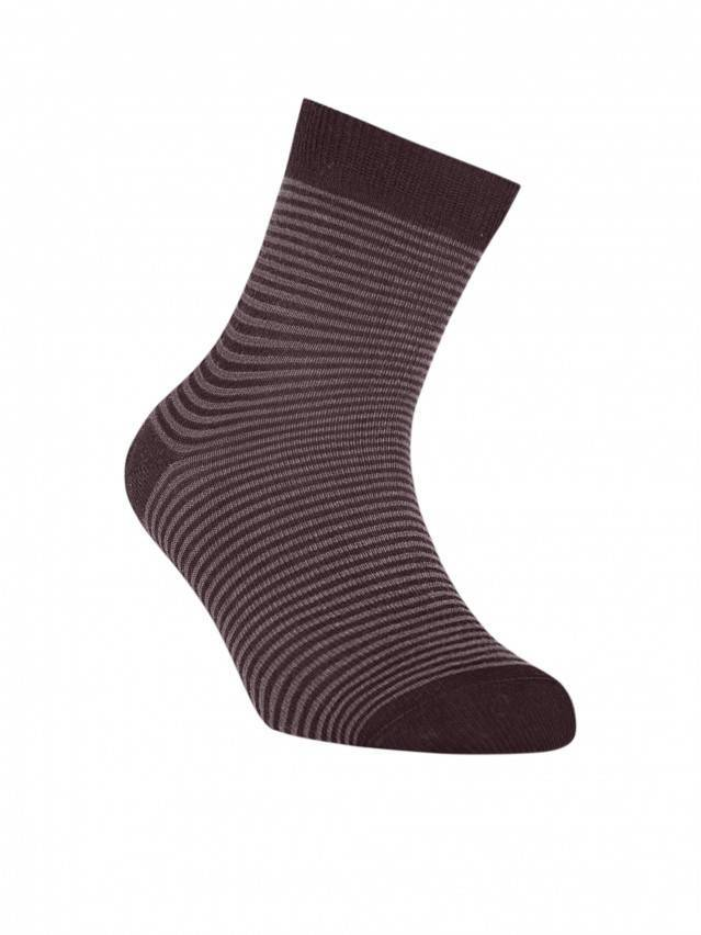 Children's socks CONTE-KIDS TIP-TOP, s.20, 139 chocolate - 1