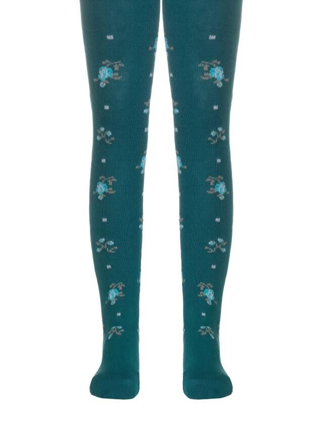 Children's tights CONTE-KIDS TIP-TOP, s.80-86 (14),258 dark turquoise - 1