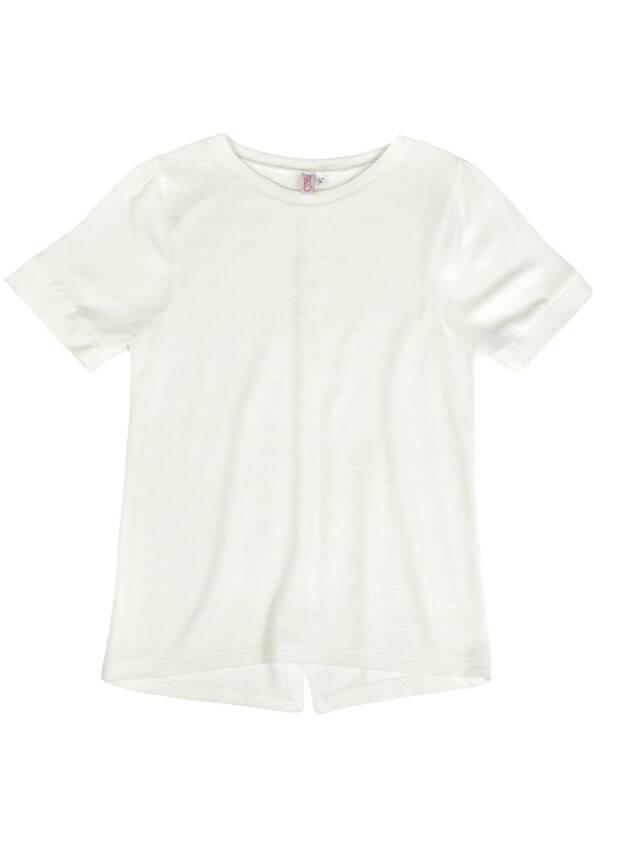 Women's polo neck shirt CONTE ELEGANT LD 515, s.158,164-100, milky - 1