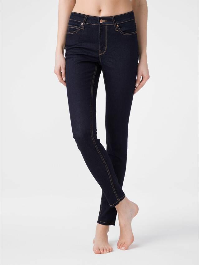 Denim trousers CONTE ELEGANT CON-183, s.170-102, indigo - 1