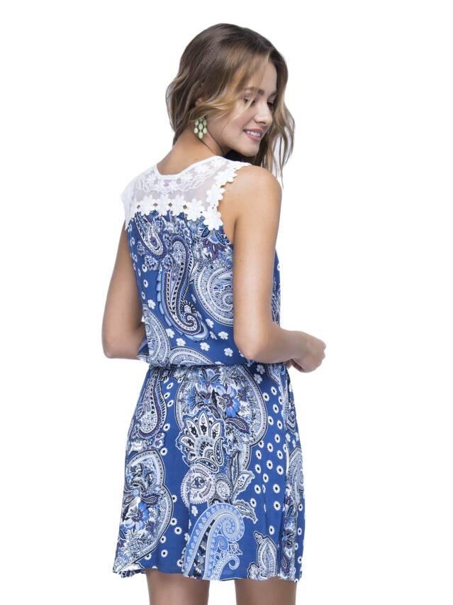 Women's gown CONTE ELEGANT LPL 529, s.164-84-92, dark blue - 3
