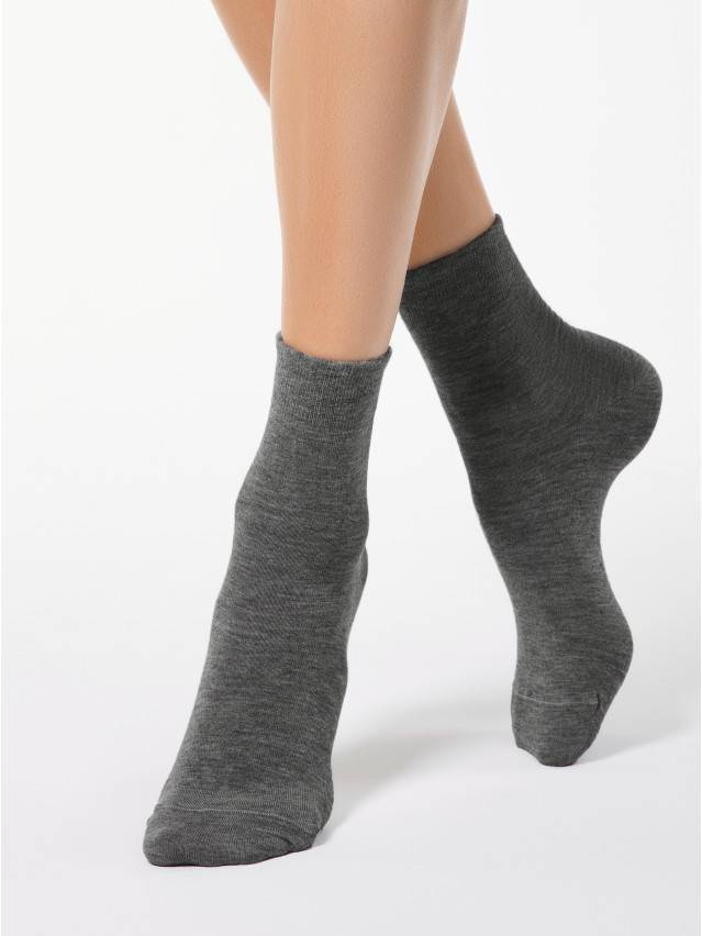 Women's socks CONTE ELEGANT COMFORT, s.23, 000 dark grey - 1