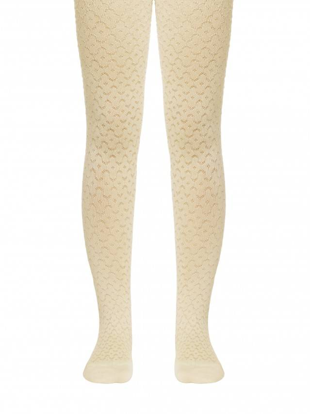 Children's tights CONTE-KIDS BRAVO, s.104-110 (16),371 cream - 1
