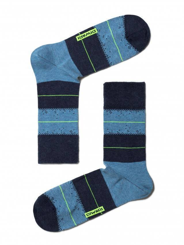 Men's socks DiWaRi HAPPY, s. 40-41, 047 navy-blue - 1