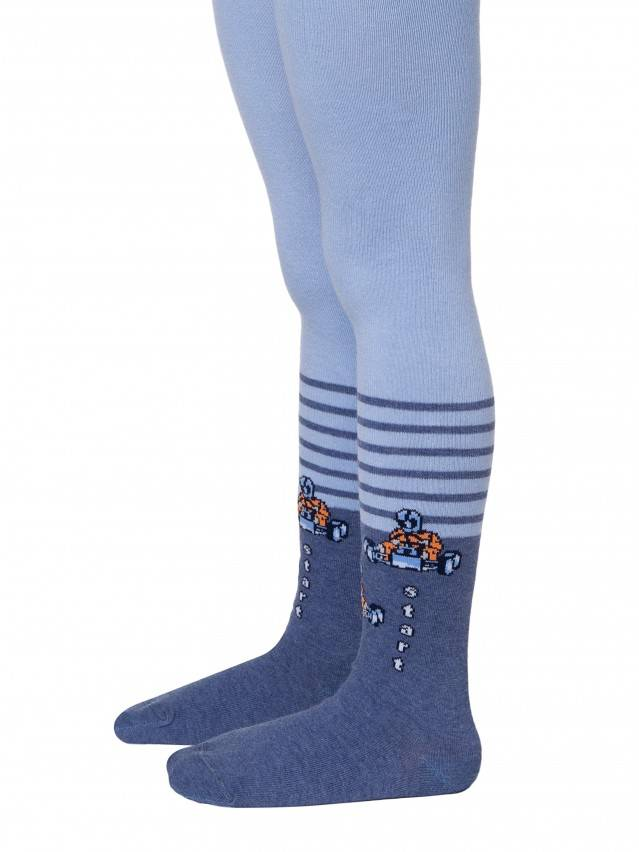 Children's tights CONTE-KIDS TIP-TOP, s.104-110 (16),394 blue - 1