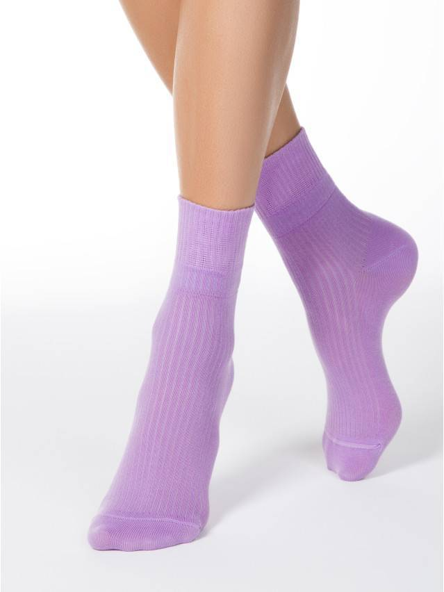 Women's socks CONTE ELEGANT CLASSIC, s.23, 013 lilac - 2