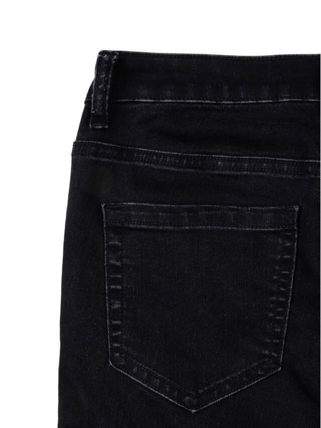 Denim trousers CONTE ELEGANT CON-57, s.170-102, black - 5
