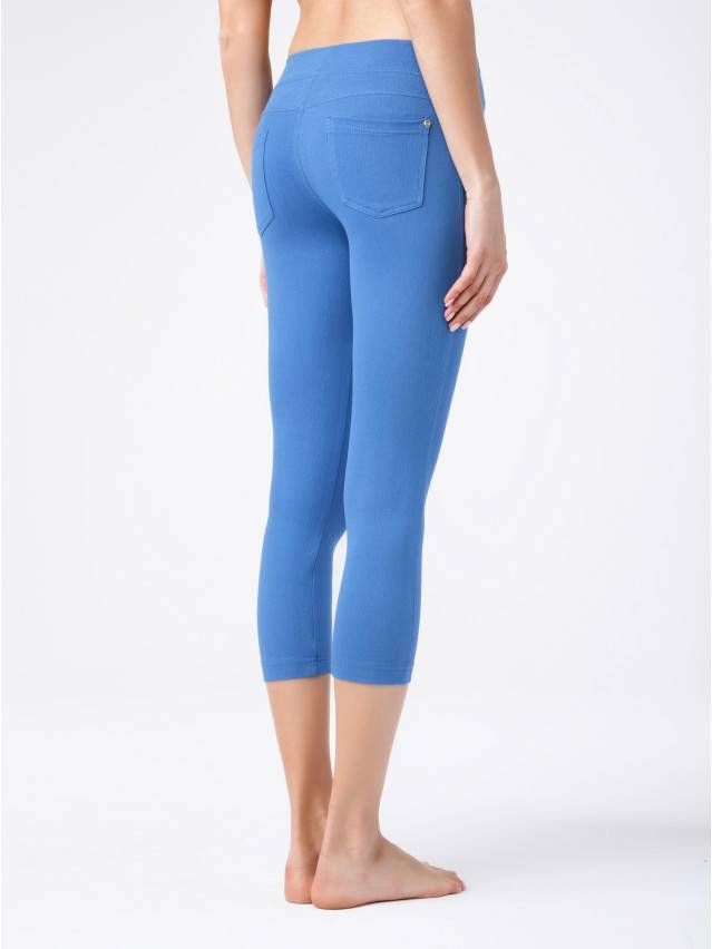 Women's knee pants CONTE ELEGANT MARTINA, s.164-102, blue - 2