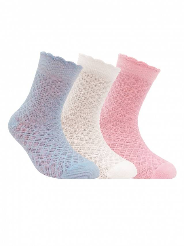 Children's socks CONTE-KIDS BRAVO, s.20, 187 pale violet - 1