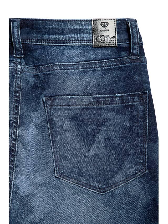 Denim trousers CONTE ELEGANT CON-93, s.170-102, navy - 7