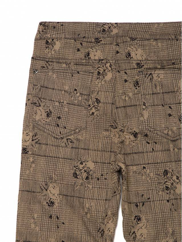 Women's trousers CONTE ELEGANT TEONA, s.164-64-92, brown - 6