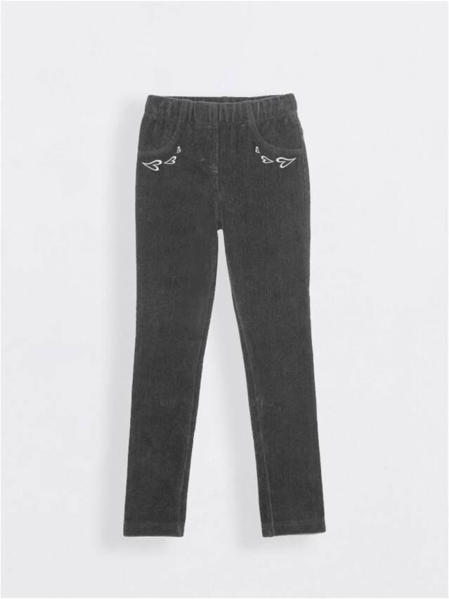 Leggings for girls CONTE ELEGANT AVRORA, s.110,116-56, grafit - 1