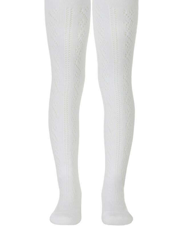 Children's tights CONTE-KIDS MISS, s.62-74 (12),266 white - 1