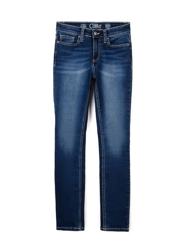 Denim trousers CONTE ELEGANT 4640/4915D, s.170-102, dark blue - 3