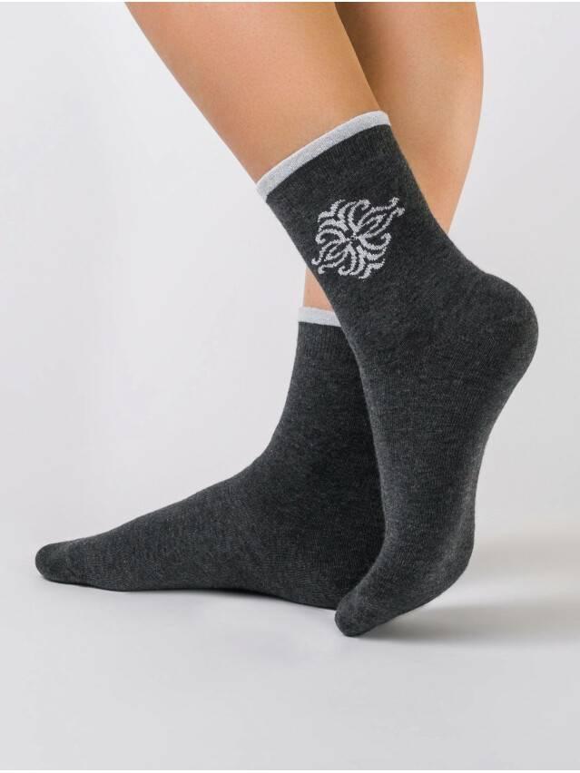 Women's socks CONTE ELEGANT COMFORT, s.23, 036 dark grey - 1