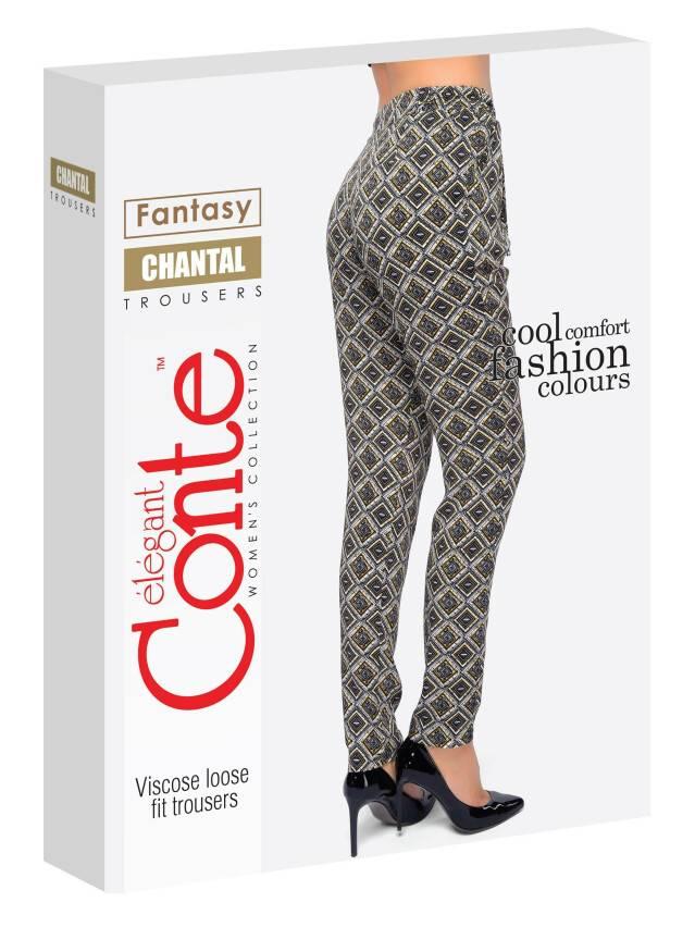 Women's trousers CONTE ELEGANT CHANTAL, s.164-64-92, yellow - 4