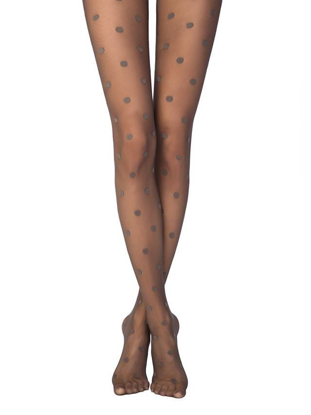 Women's tights CONTE ELEGANT PARADISE, s.2, grafit - 1