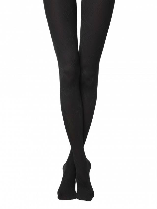 Women's tights CONTE ELEGANT VERBENA, s.2, nero - 1