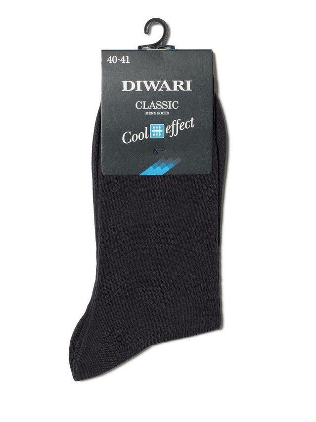 Men's socks DiWaRi CLASSIC COOL EFFECT, s. 40-41, 000 graphite - 2