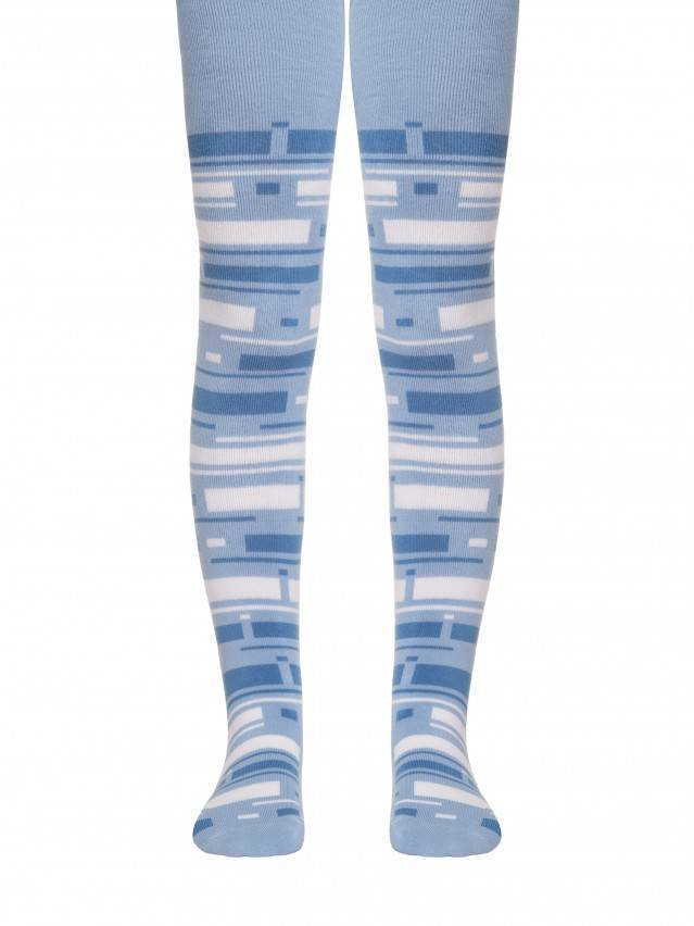 Children's tights CONTE-KIDS SOF-TIKI, s.128-134 (20),243 blue - 1
