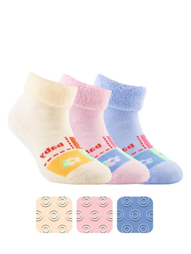 Children's socks CONTE-KIDS SOF-TIKI, s.12, 104 cream - 1