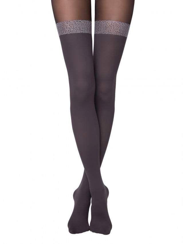 Women's tights CONTE ELEGANT CARMINE, s.2, grafit - 1